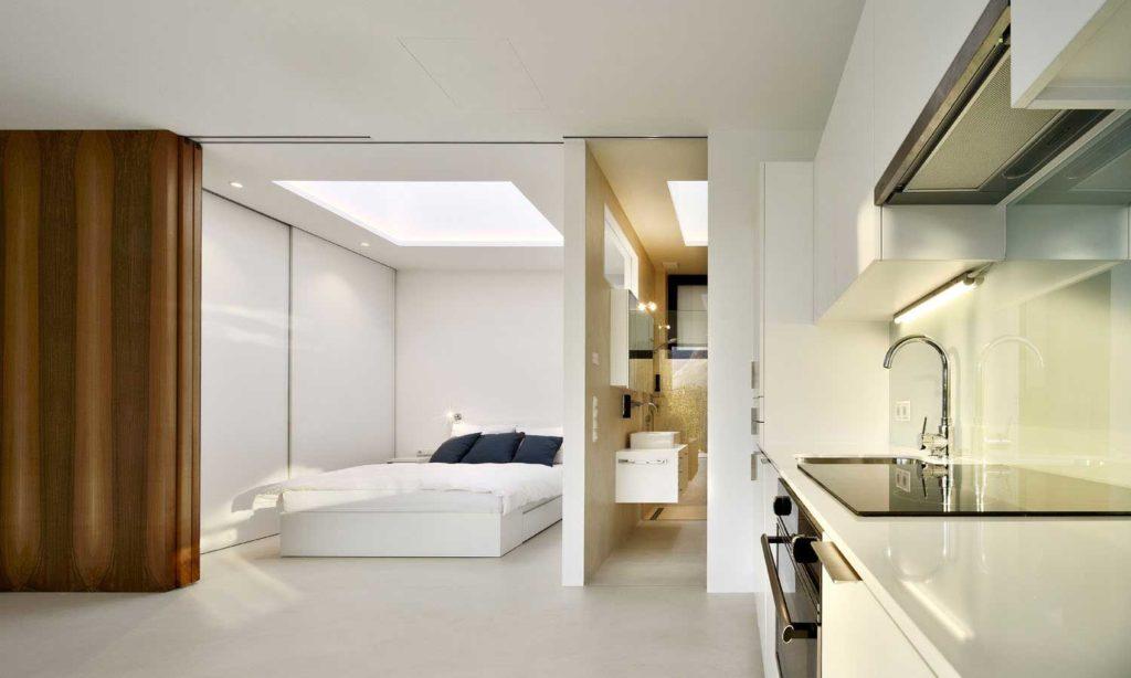 Αρχιτεκτονικές αντανακλάσεις MirrorHousekitchenbedroomview 1024x614