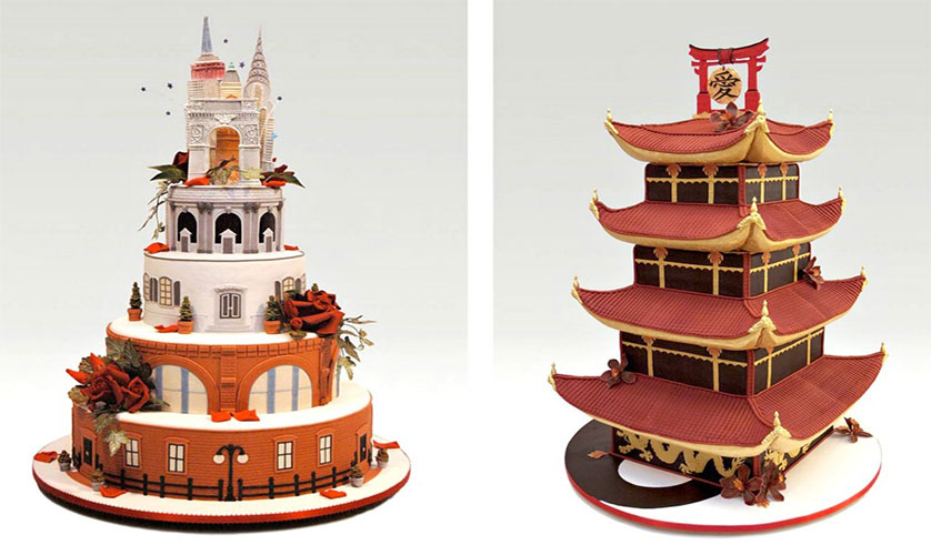 chocolatexture by Nendo Ron Ben Israel architectural cakes 1024x677
